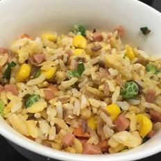 营养炒米饭