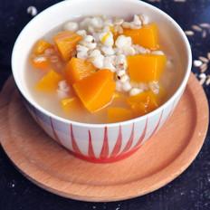 南瓜薏米燕麦米粥