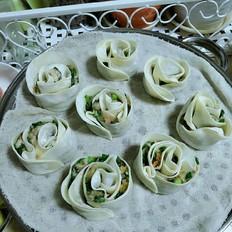 玫瑰瓣饺子