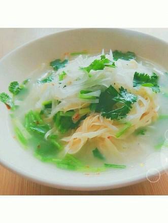 干豆腐萝卜丝汤的做法