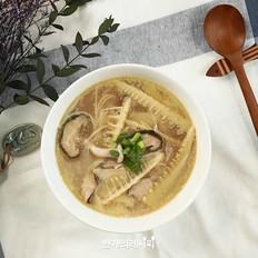 竹笋蘑菇汤