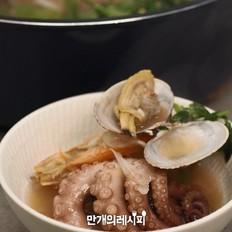 大酱软泡汤(清章鱼汤)