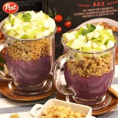 紫薯苹果奶昔