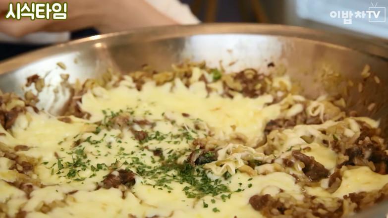 奶油炒饭的做法