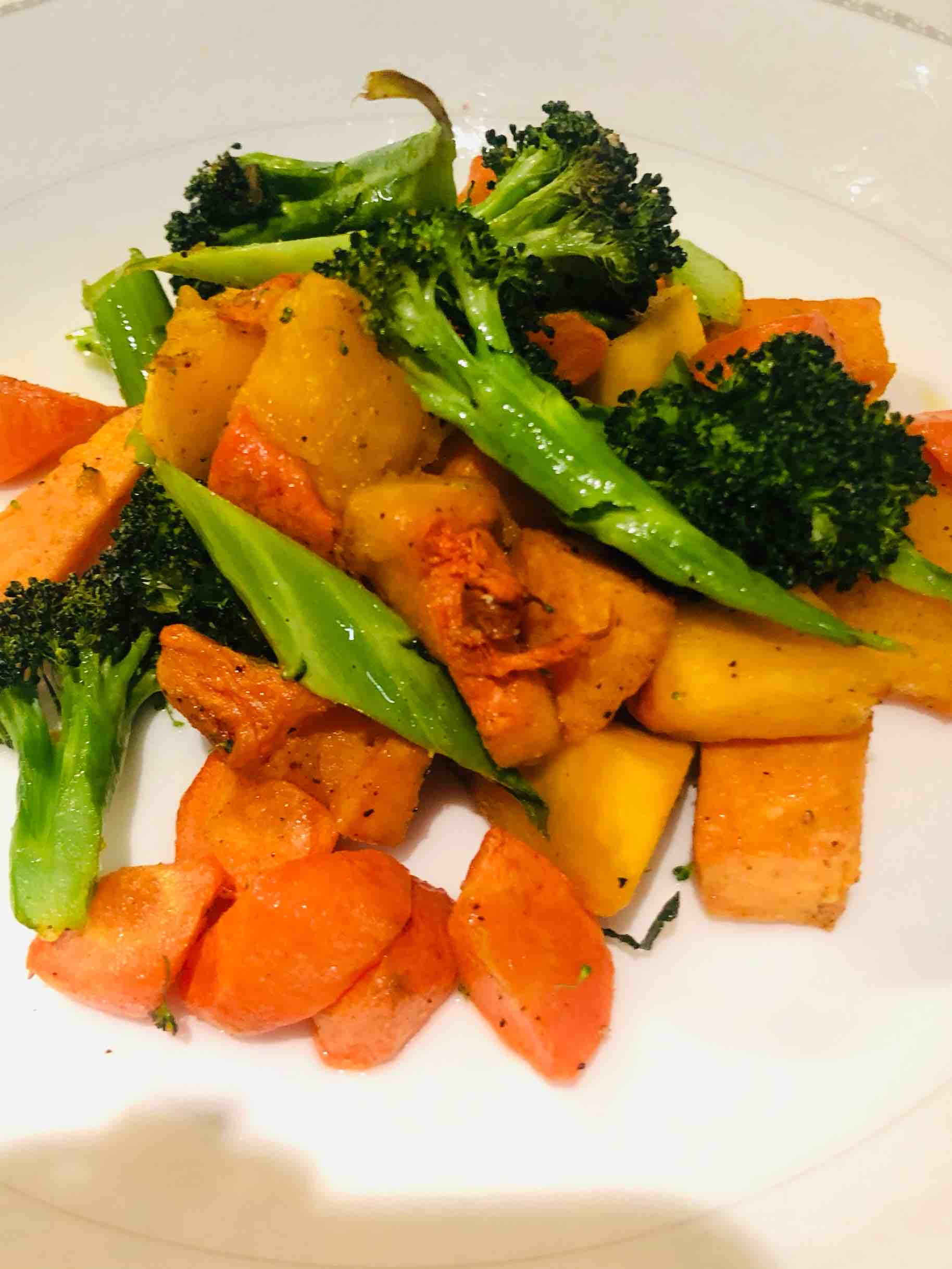 简单美味又健康的烤蔬菜