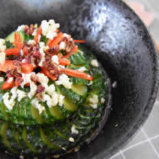 经典名菜——蓑衣黄瓜