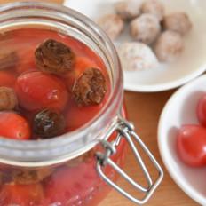 开胃小食,话梅小番茄