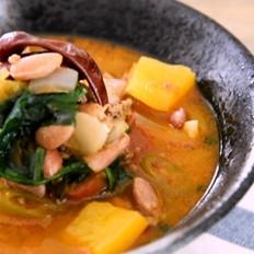 墨西哥辣椒牛肉酱汤