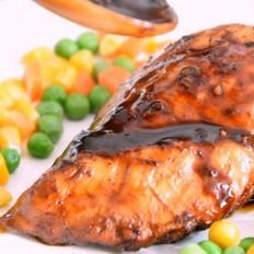 豆豉酱烧鸡胸肉