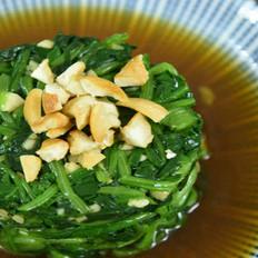 腰果拌菠菜