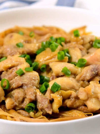 黄花菜蒸鸡的做法