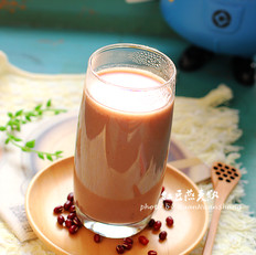 红豆燕麦饮