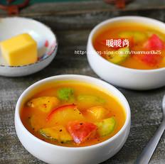 南瓜味噌浓汤
