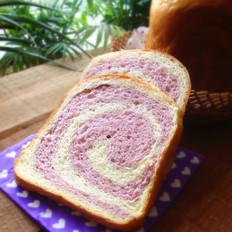 紫薯卷面包机吐司