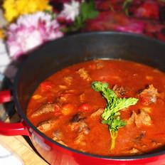 西红柿牛腩锅