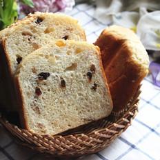 中种核桃果干面包