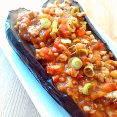 肉末烤茄子