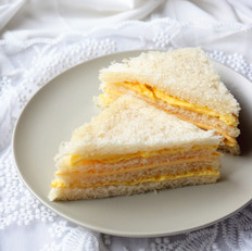 鸡蛋芝士三明治