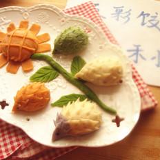 刺猬饺子和向日葵