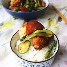 玉米鸡翅麻辣香锅