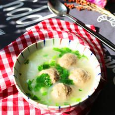 牛肉丸子粉丝汤
