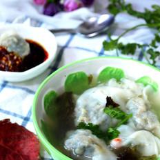 鲜虾荠菜馄饨