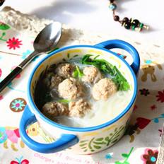 羊肉丸子粉丝汤