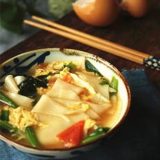 西红柿鸡蛋片儿汤