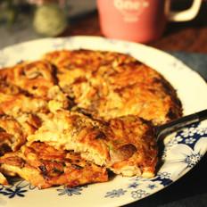 虾油蘑菇饼