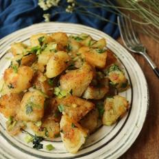 椒盐土豆块