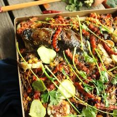 胡萝卜豆豉烤鱼