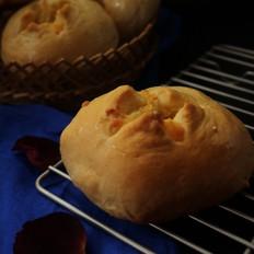 蒜香土豆熔岩面包