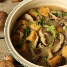 香菇豆腐煲