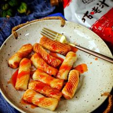 酸甜鱼肉卷