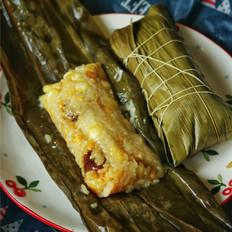 绿豆蜜枣粽