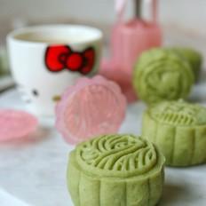 抹茶冰皮月饼