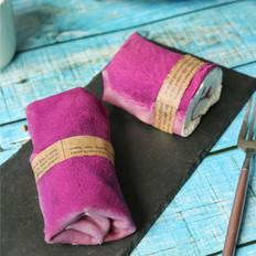 紫薯毛巾卷