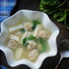 虾丸豆腐汤