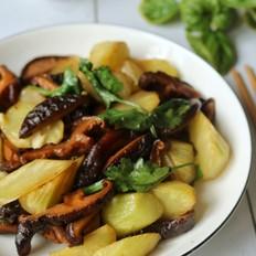 青笋炒香菇
