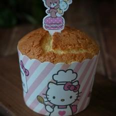 KT无油海绵纸杯蛋糕