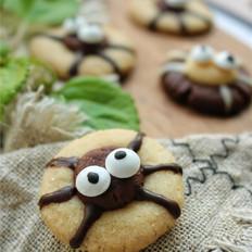 万圣节蜘蛛饼干