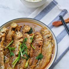 酱焖黄鱼饭