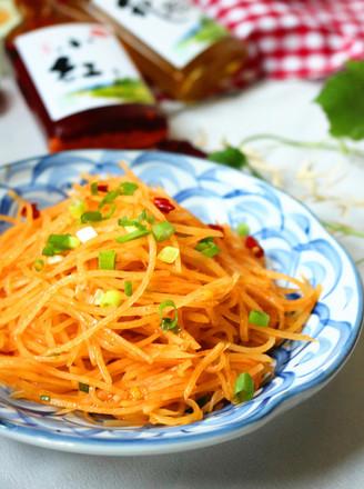 红油土豆丝的做法