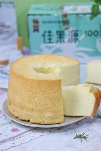 松软不失败的椰香戚风蛋糕的做法