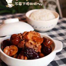 红枣焖栗子鸡