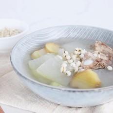 清热解暑-冬瓜薏米排骨汤