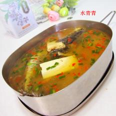 水煮财鱼的做法