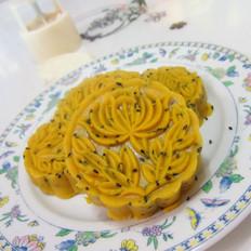 芝麻南瓜豆沙饼