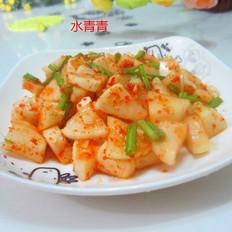 辣椒粉拌萝卜