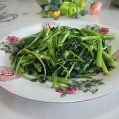 猪油空心菜